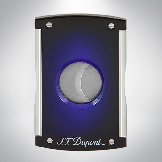 S.T. Dupont Cigar cutter maxijet sunburst blue