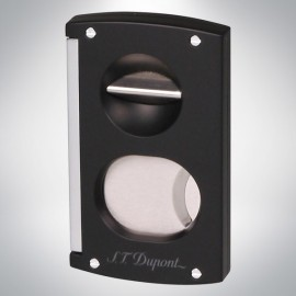 S.T. Dupont Double Cigar cutter black and red