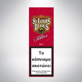 ST. LOUIS BLUES FILTER RED 10's