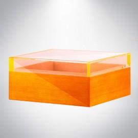Angelo humidor glasstop